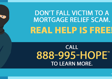 Get Real Mortgage Relief and Avoid Scams