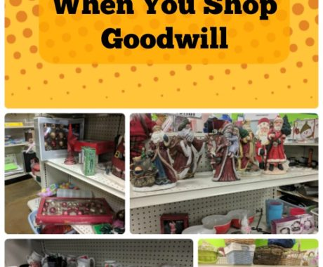 How to Score Big When You Shop Goodwill